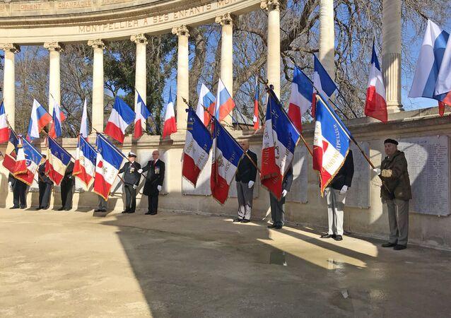 Cérémonie commémorative à Montpellier en 2018