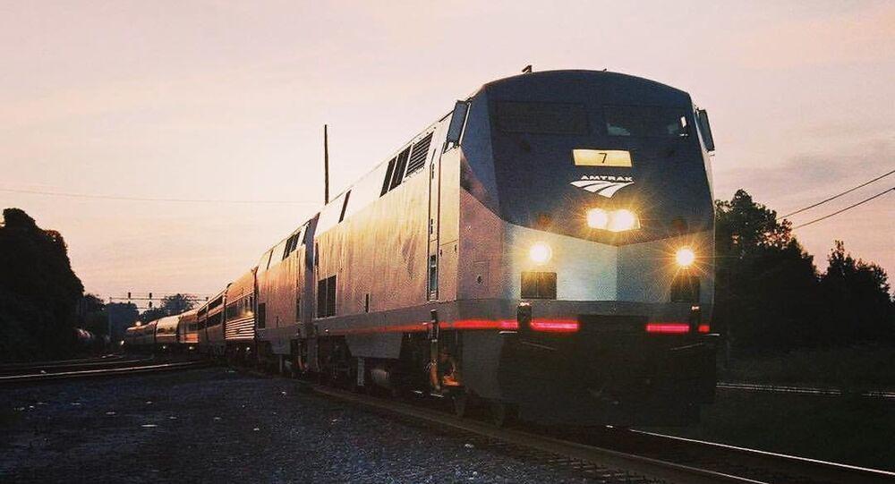 Un train de la compagnie ferroviaire Amtrak (image d'illustration)