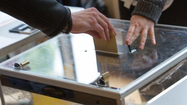 Un bureau de vote français (photo d'archives) - Sputnik France