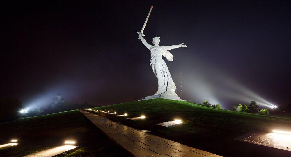 Statue de la Mère-Patrie (Volgograd)