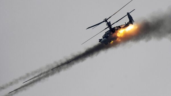 Un hélicoptère Ka-52 - Sputnik France