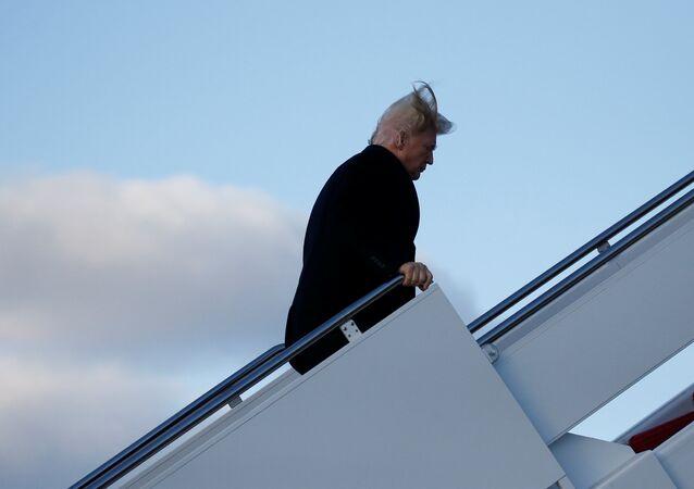Le Président Donald Trump