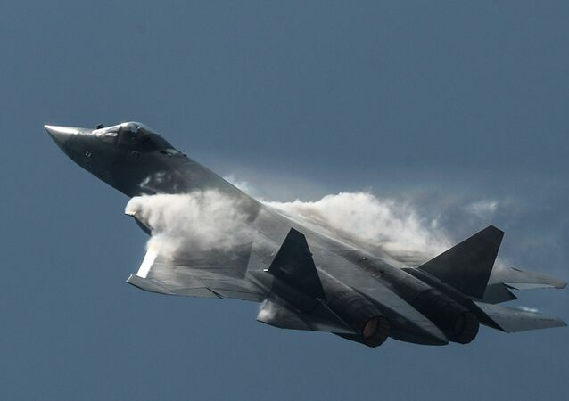 Le chasseur Su-57