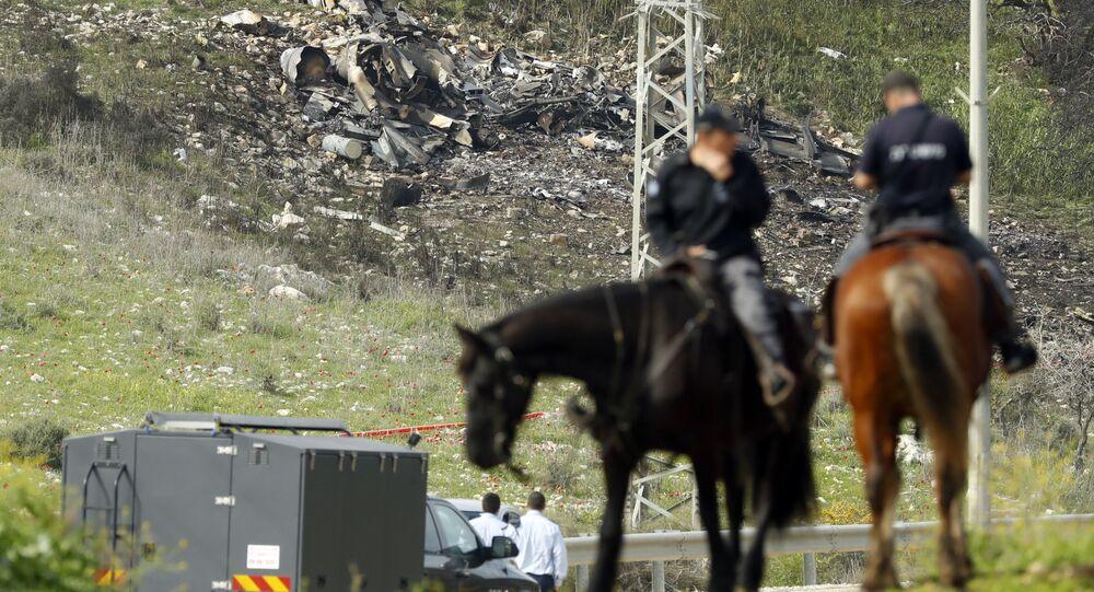 F-16 israélien abattu par la DCA syrienne