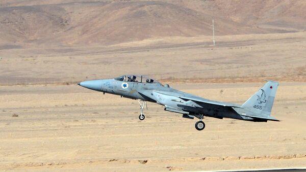 Un F-15 israélien - Sputnik France