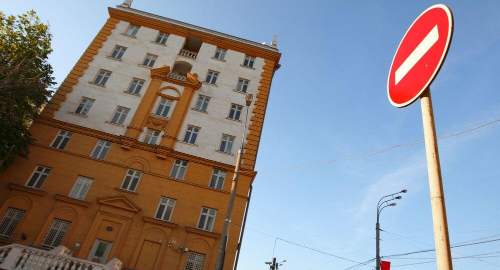 Ambassade américaine à Moscou