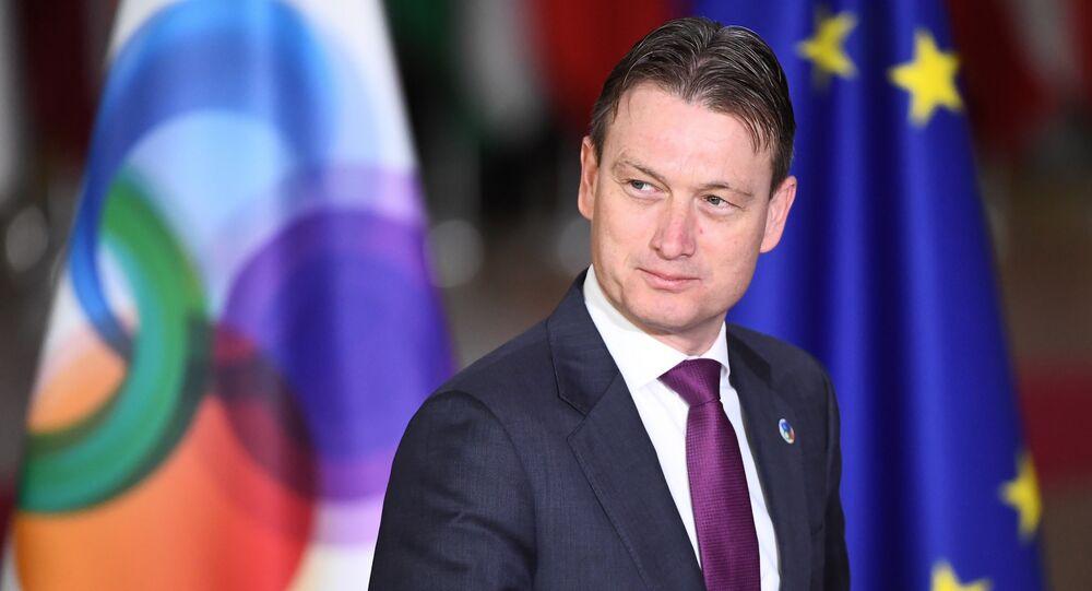 Halbe Zijlstra, chef de la diplomatie néerlandaise