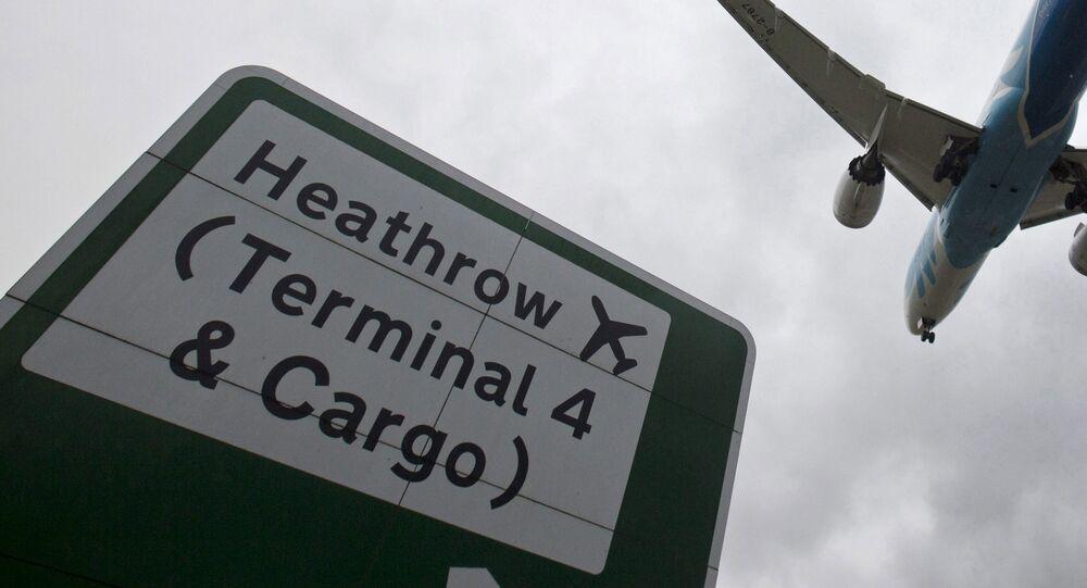 L'aéroport de Londres-Heathrow