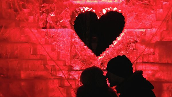 Празднование Дня святого Валентина - Sputnik France