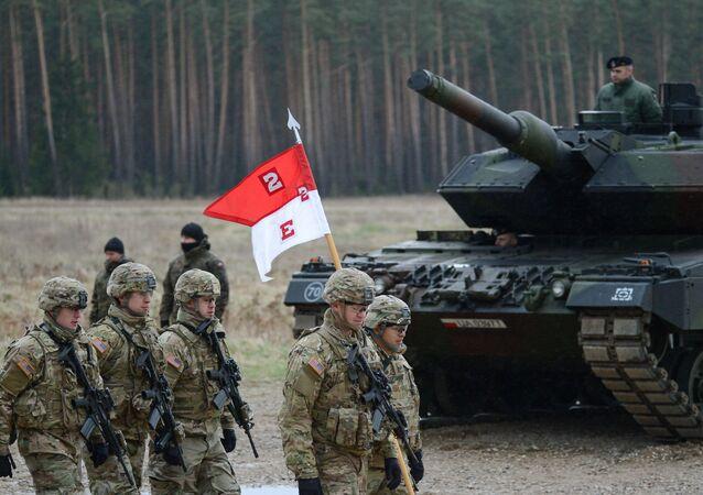 Un bataillon de l'Otan en Pologne (image d'illustration)