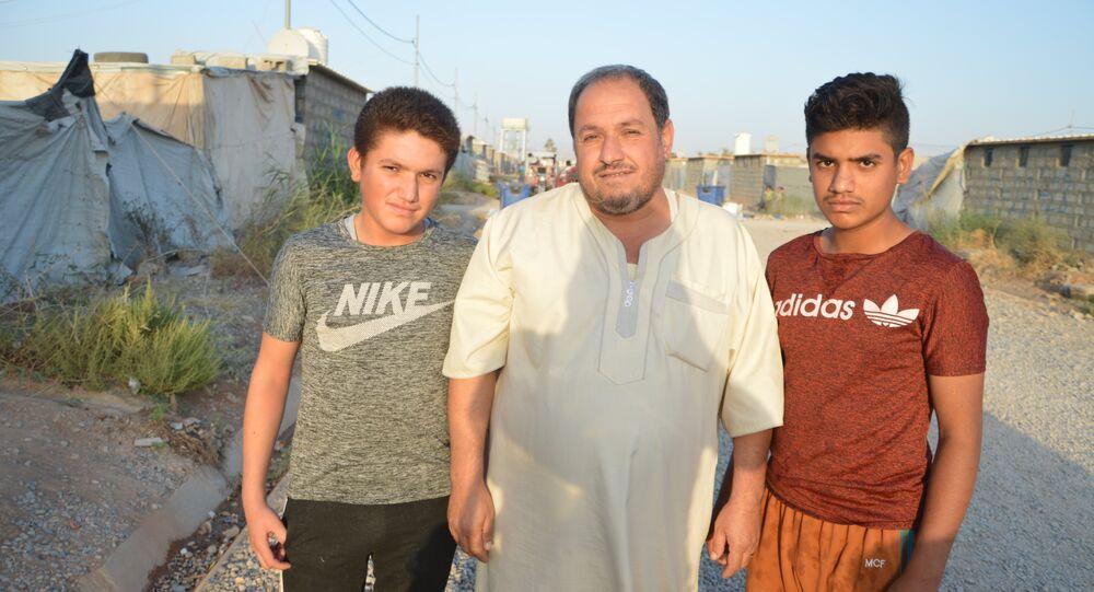 Émigrés irakiens: «L'amour de la Patrie est dans notre sang!»