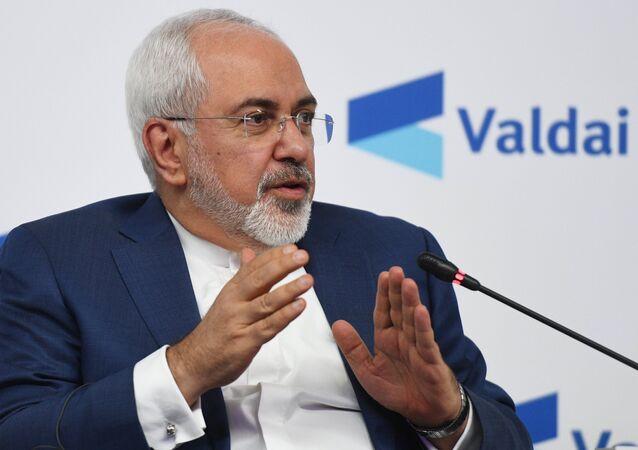 Ministre iranien des Affaires étrangères Mohammad Javad Zarif