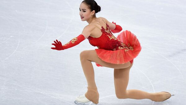 Olympic Athlete from Russia Alina Zagitova performing her free program during the women's team figure skating competition at the XXIII Olympic Winter Games in Pyeongchang - Sputnik France