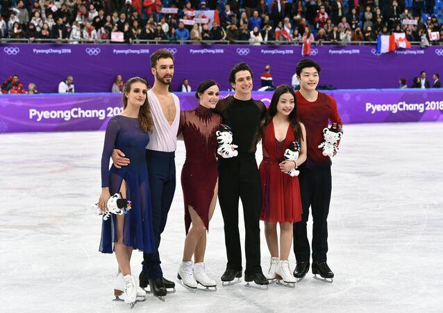 Danse sur glace. Programme libre