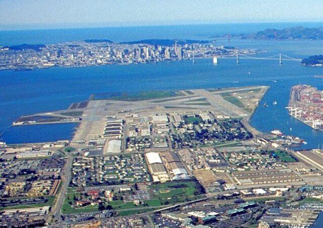 Base aérienne de la marine US à Alameda