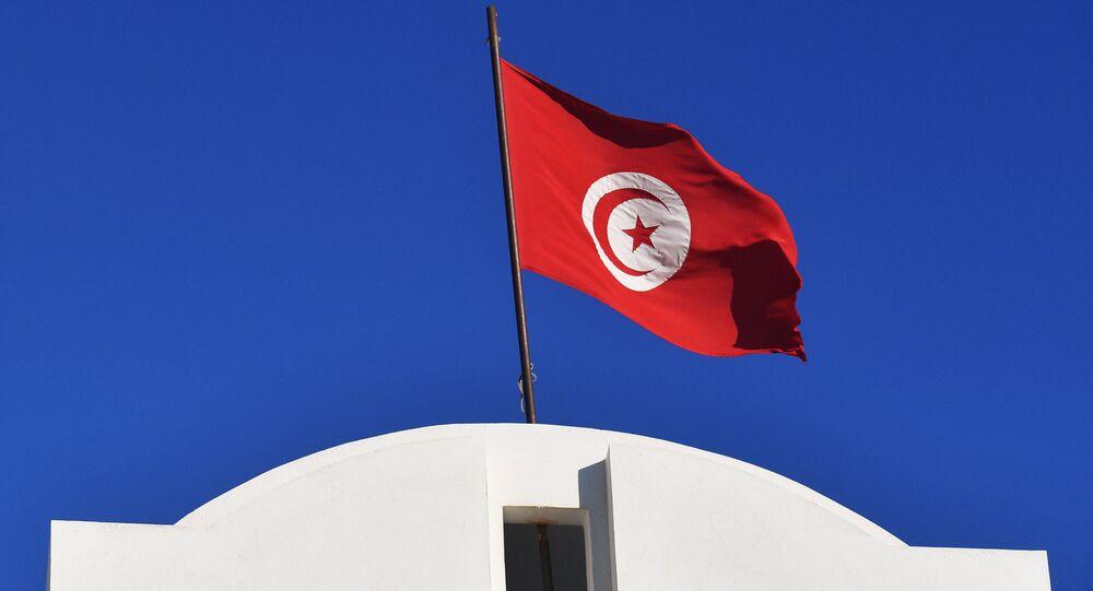 Le drapeau tunisien