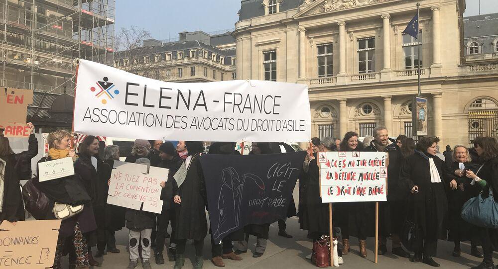 Manifestation 21 février à Paris contre la #LoiAsileImmigration