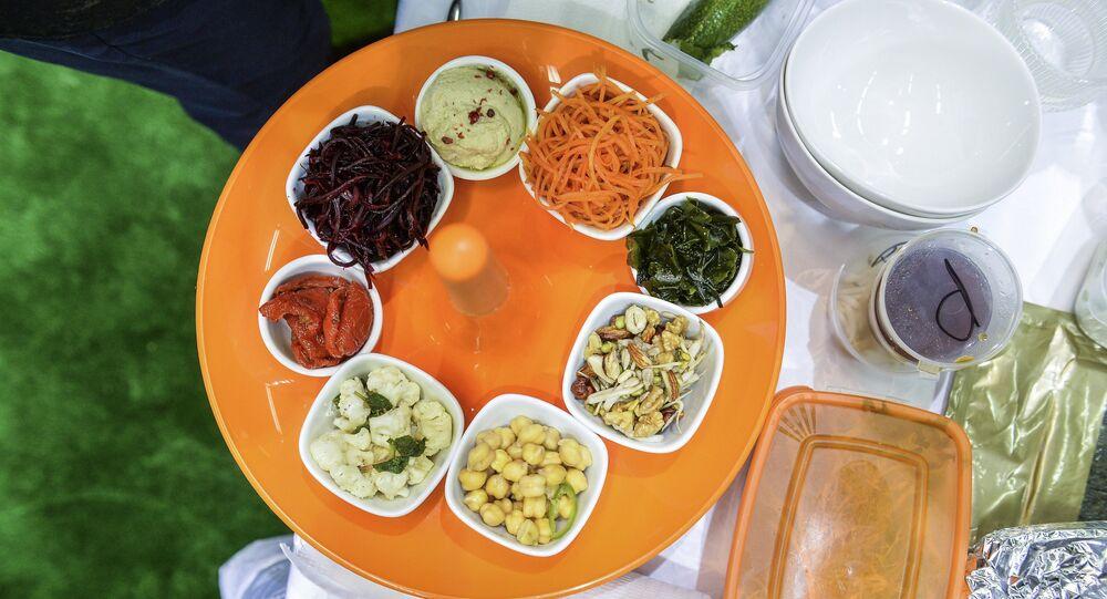 Produits végétariens (image d'illustration)