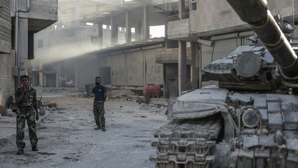 Ситуация в сирийском городе Гута - Sputnik France