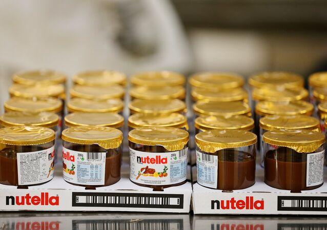 Des pots de Nutella