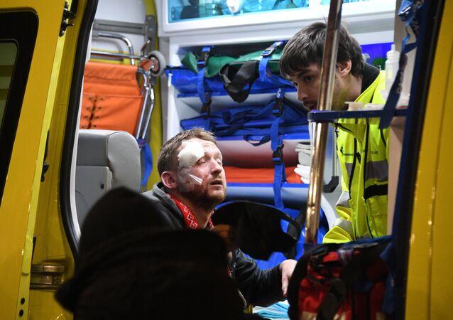 Un supporter blessé à Bilbao