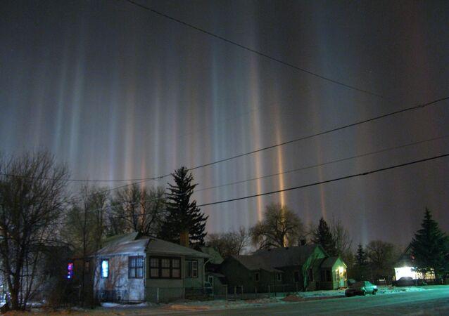 une aurore boréale (image d'illustration)