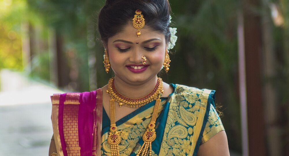 Une Indienne