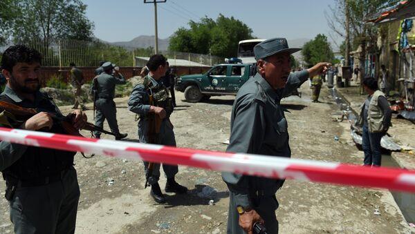 Afghan policemen - Sputnik France