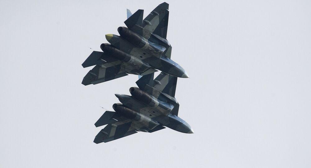 Des chasseurs russes de 5e génération Su-57