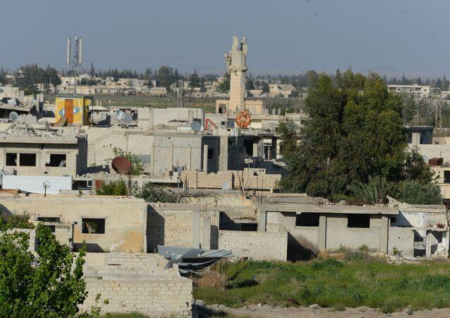 Dans la Ghouta orientale