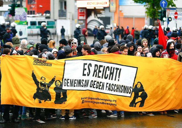 Protestations contre l'AfD