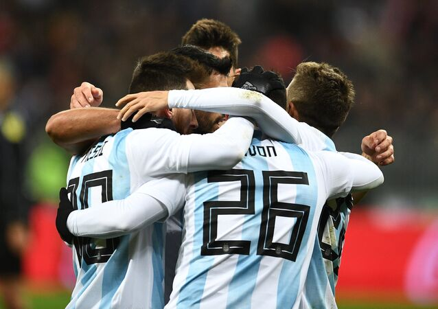 La sélection d'Argentine, football