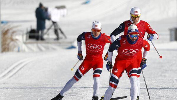 les skieurs norvégiens aux JO 2018 - Sputnik France