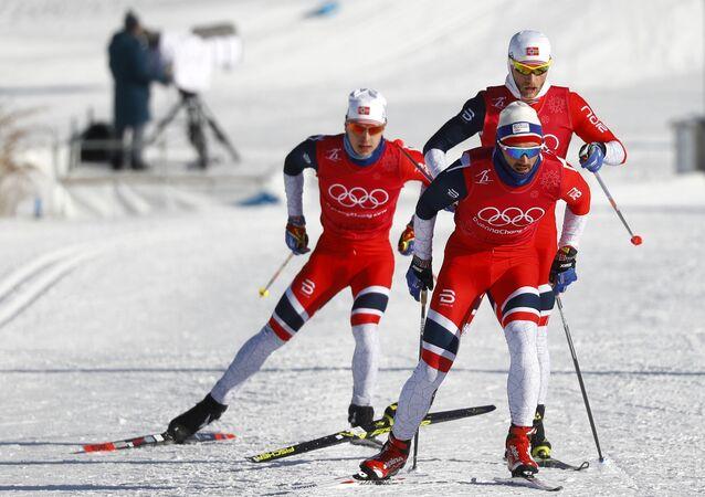 les skieurs norvégiens aux JO 2018