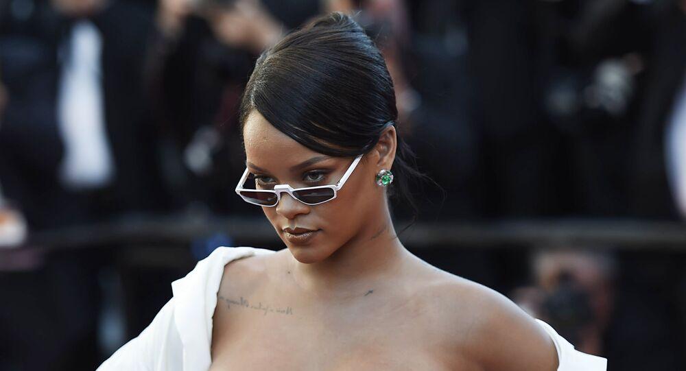 Rihanna au festival de Cannes