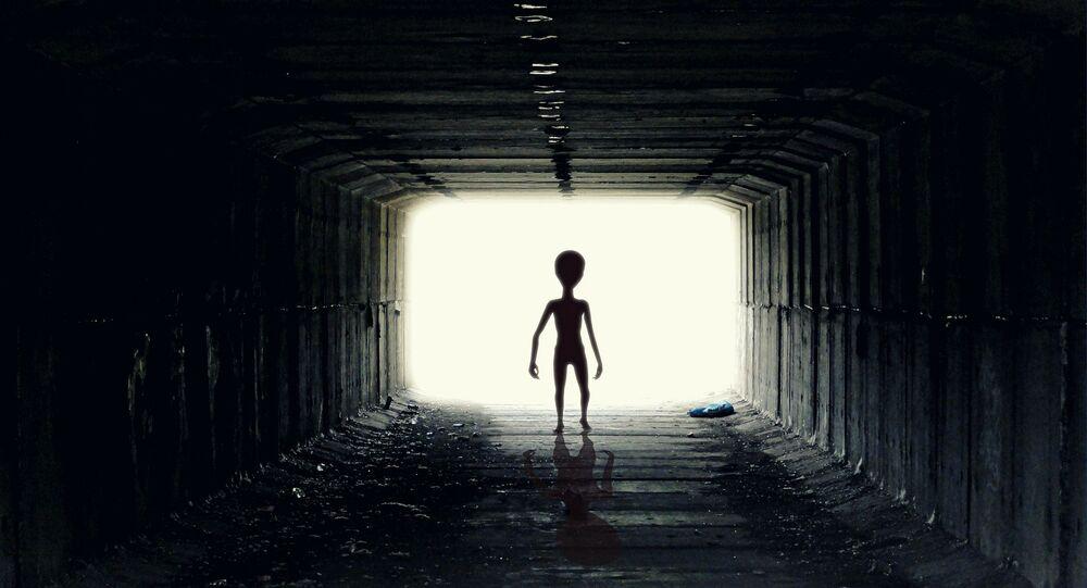 Un extraterrestre. Image d'illustration