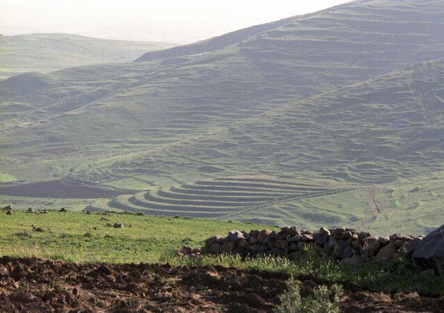 Le nord-est de la Syrie