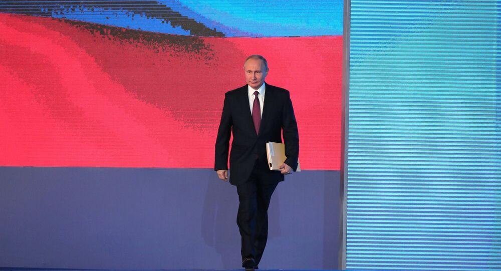 Le dirigeant russe Vladimir Poutine livre ce jeudi 1er mars son message annuel au parlement