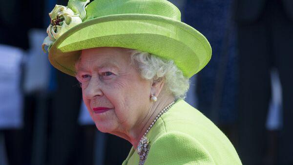 La reine Elizabeth II lors des festivités à l'occasion du 70e anniversaire du débarquement en Normandie - Sputnik France