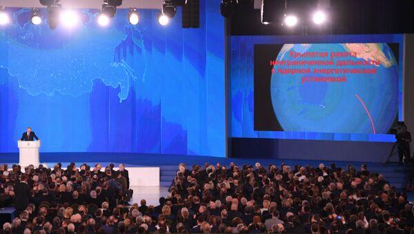 Message de Vladimir  Poutine à l'Assemblée fédérale - Sputnik France