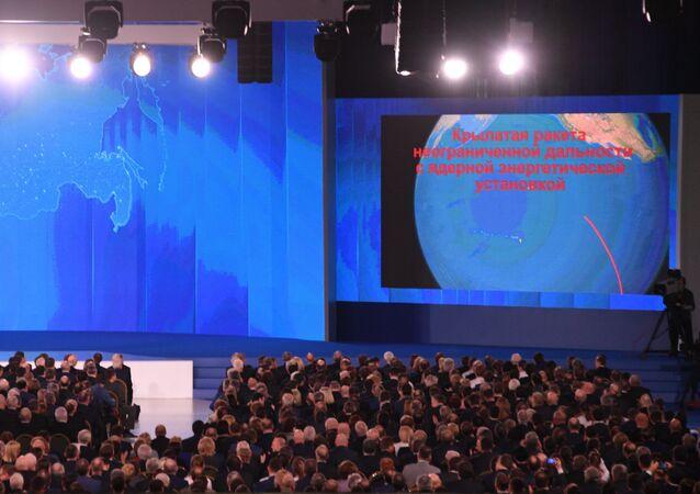 Message de Vladimir Poutine à l'Assemblée fédérale