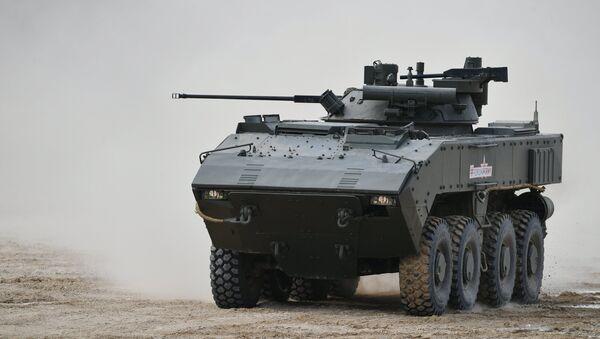 Le véhicule blindé de combat d'infanterie K-17 Boumerang - Sputnik France