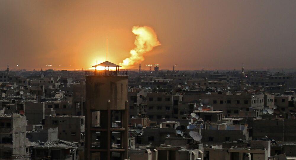 Les alentours de la Ghouta orientale