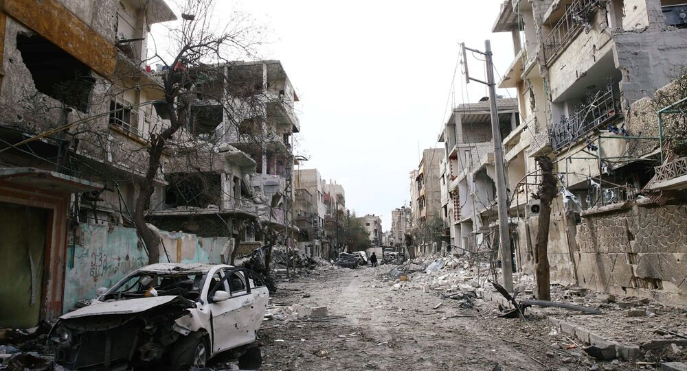 Douma, dans la Ghouta orientale