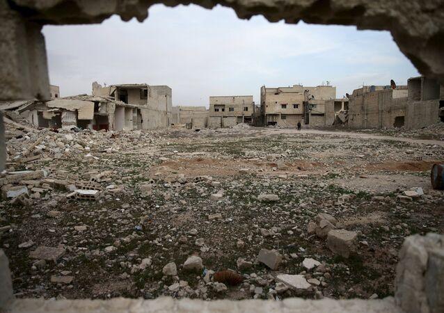 La ville syrienne de Douma, en Ghouta orientale. Archives