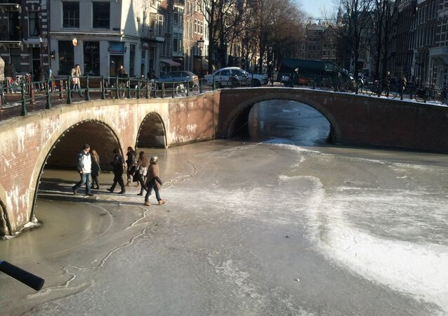 Froid à Amsterdam