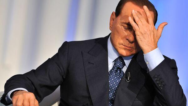 Silvio Berlusconi risponde alle accuse durante una puntata di Porta a Porta. - Sputnik France