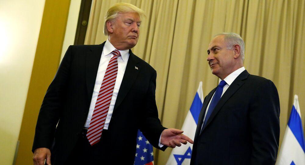 Le Président américain Donald Trump et le Premier ministre israélien Benjamin Netanyahou