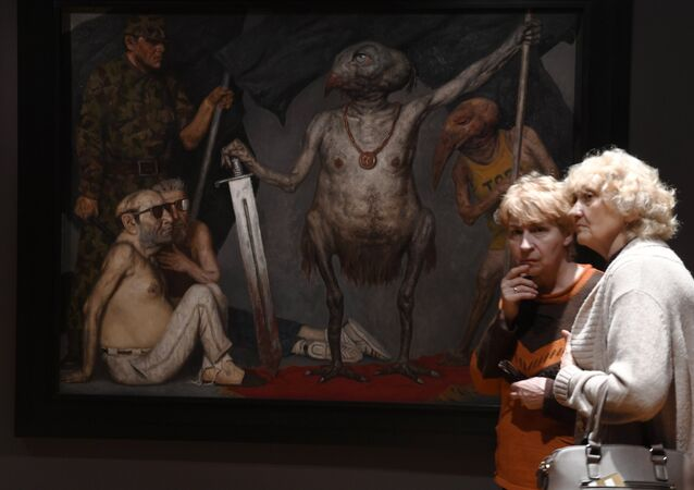 L'Exposition de Gely Korzhev à la Galerie Tretiakov