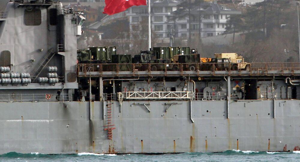 L'USS Oak Hill (LSD-51)